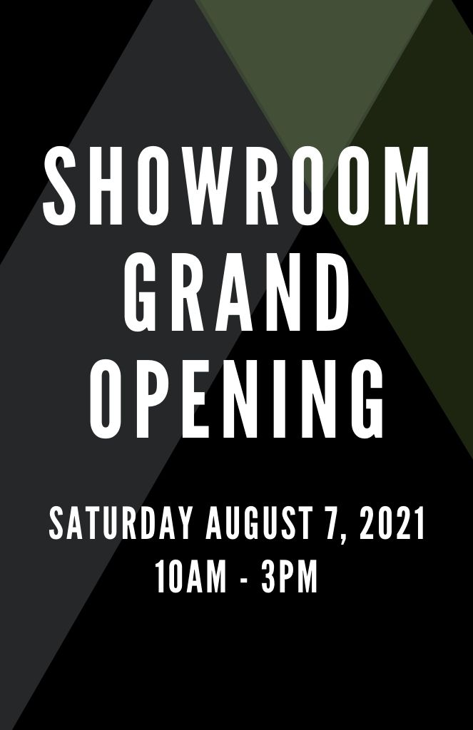 Showroom Grand Opening | August 7th 2021